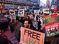 Libya March in Tokyo, Japan libjp libya 2011.02.26 リビアのためのデモ行進(渋谷, 東京).jpg
