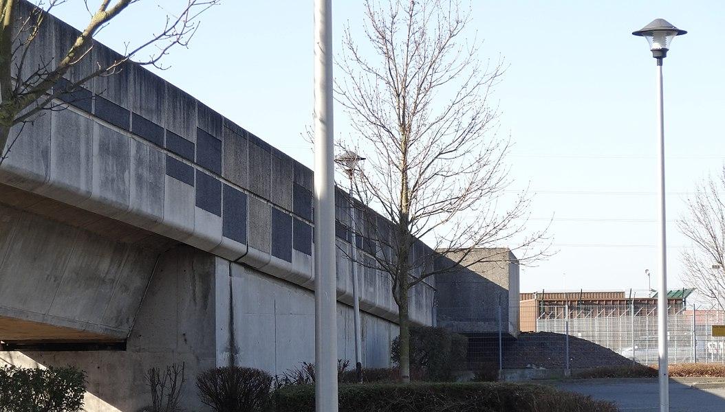 Garage-atelier du Grand But de la ligne 2 du métro de Lille Métropole.