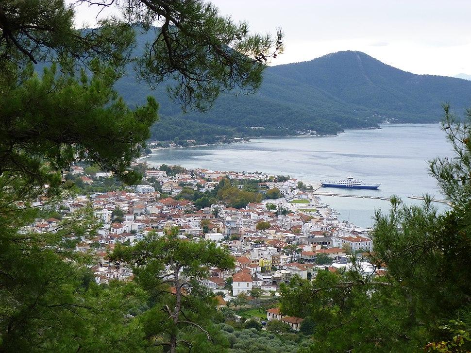 Limenas (port) of Thasos, capital of the island