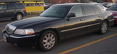 [DIAGRAM_38ZD]  Lincoln Town Car - Wikipedia | 94 Lincoln Continental 3 8l Wiring Diagram |  | Wikipedia