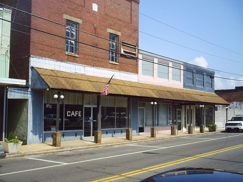 Lineville Alabama downtown 09.jpg