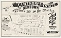 Linthorpe Estate Newtown 1905 Subdivision plan.jpg