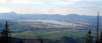 Havránok - Since 1975 Havránok overlooks the Liptovská Mara reservoir