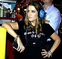 Lisa Marie Presley Lisa Marie Presley at car race.jpg