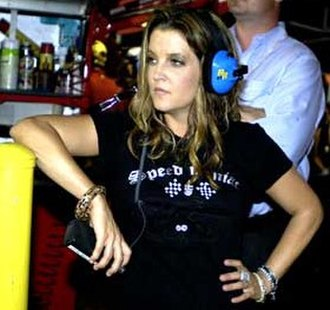 Lisa Marie Presley - Presley at the Daytona International Speedway in July 2005