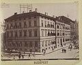 Liszt Ferenc tér - Király utca sarok. A képen látható Vakok Intézete helyén ma a Zeneakadémia áll. - Budapest, Fortepan 82393.jpg