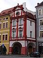 Litoměřice, dům U pěti panen, Mírové nám. čp.42.JPG