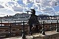 Little Princess Statue, Danube Promenade, Budapest, Hungary (Ank Kumar) 11.jpg