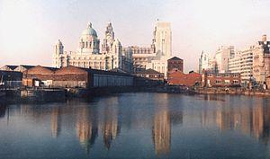 James Hanley (novelist) - Liverpool waterfront