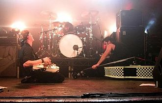The Living End discography - The Living End on 21 August 2007, at Electric Ballroom, London. Left to right: Chris Cheney, Andy Strachan, Scott Owen