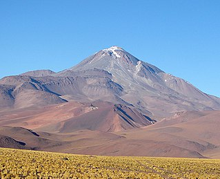 Llullaillaco Dormant stratovolcano at the border of Argentina and Chile