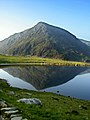 Llyn Idwal with Pen yr Ole Wen stealing the limelight - geograph.org.uk - 460484.jpg