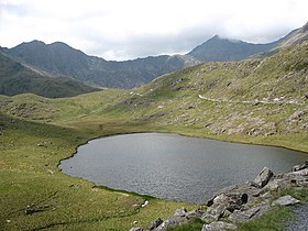 Llyn Teyrn and the Snowdon Horseshoe - geograph.org.uk - 307319.jpg