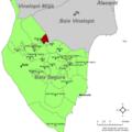 Localització de Sant Isidre respecte el Baix Segura.png