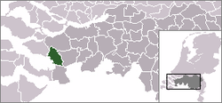 Location of Bergen op Zoom