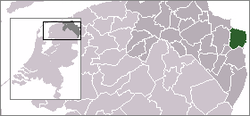 Location of Reiderland