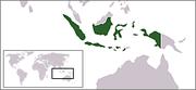 Localización de Indonesia