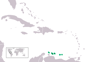 Leeward Antilles - Map of the Leeward Antilles