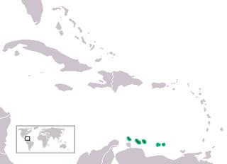 Leeward Antilles Islands in the Caribbean