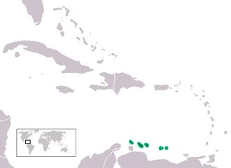 Leeward Antilles - Map of the Leeward Antilles