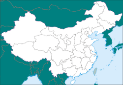 ഹാങ്ഝൗ is located in China