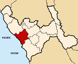 Location of the province Trujillo in La Libertad.PNG
