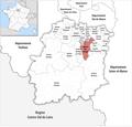 Locator map of Kanton Ris-Orangis 2019.png
