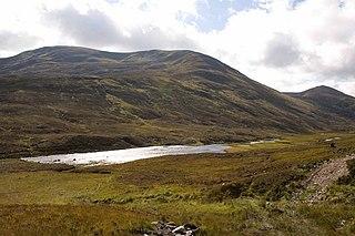 Aonach Shasuinn Mountain in the Northwest Highlands