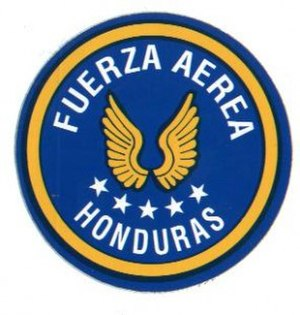 Military of Honduras - Image: Logo Fuerza Aérea Hondureña