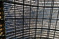 London - St Pancras International Rail - Single Roof Span 1868 by William Henry Barlow & Rowland Mason Ordish - View Up.jpg