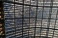 London - St Pancras International Rail - Single Roof Span 1868 by William Henry Barlow & Rowland Mason Ordish - View Up.jpg