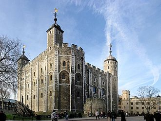 1974 Tower of London bombing - The White Tower