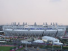 London 2012 Olympic Stadium (13 July 2012).jpg