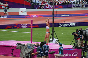 Athletics at the 2012 Summer Olympics – Women's heptathlon - Winner Jessica Ennis