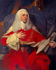 Alexander Wedderburn, 1st Earl of Rosslyn, 1733 - 1805. Lord Chancellor (As Lord Loughborough)