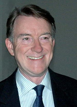 English: Lord Mandelson