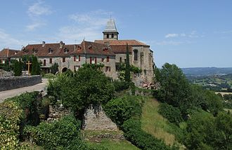 Loubressac - A general view of Loubressac