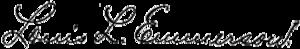 Louis Lincoln Emmerson - Image: Louis L. Emmerson signature