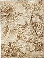 Lucas Cranach St Eustace drawing.jpg