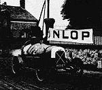 Lucien Desvaux, vainqueur sur cyclecar Salmson 1.1L. du Meeting de Montargis en juillet 1923.jpg