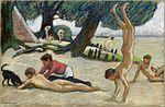 Ludwig von Hofmann Garçonnets à la plage.jpg