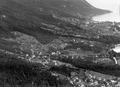Luftaufnahme des rechten Thunerseeufers mit Oberhofen - CH-BAR - 3241381.tif