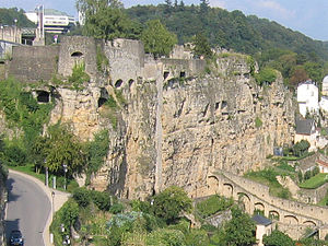 County of Luxemburg - Bock Fiels, Luxembourg