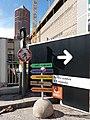 Lyon 3e - Boulevard Vivier-Merle, panneaux d'indication des chantiers.jpg