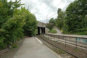 Lysakerelven (station) - Image: Lysakerelven stasjon