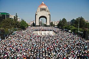 """Español: Evento """"México a Leer"""", Mon..."""