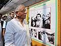 "M.K. Narayanan going round the photo exhibition ""Indira Priyadarshini"", on the occasion of 96th Birth Anniversary of the former Prime Minister, Smt. Indira Gandhi, in Kolkata on November 19, 2013.jpg"