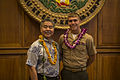 MARFORPAC Marine recognized for efforts in the community 150508-M-QQ799-259.jpg