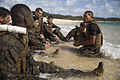MCMAP instructor course tests Marines endurance on the beaches of Okinawa 141121-M-PU373-909.jpg