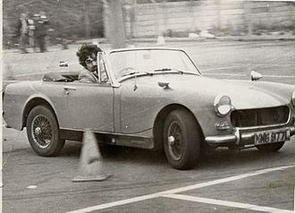 MG Midget - Round wheel arch MG Midget on  Autotest